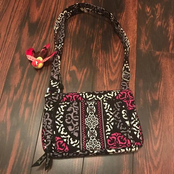 Vera Bradley Canterberry Magenta Crossbody Bag. M 5b2b15b703087c2eef70da25 1704bfdda1b53